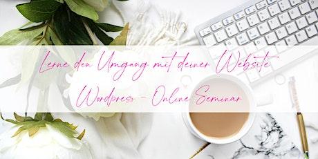 Lerne den Umgang mit  deiner Wordpress Website Tickets