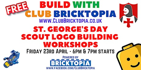 St George's Day Scout Logo building workshops tickets