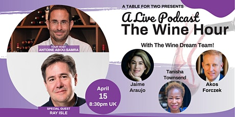 The Wine Hour - Special Guest Ray Isle (Food & Wine) tickets