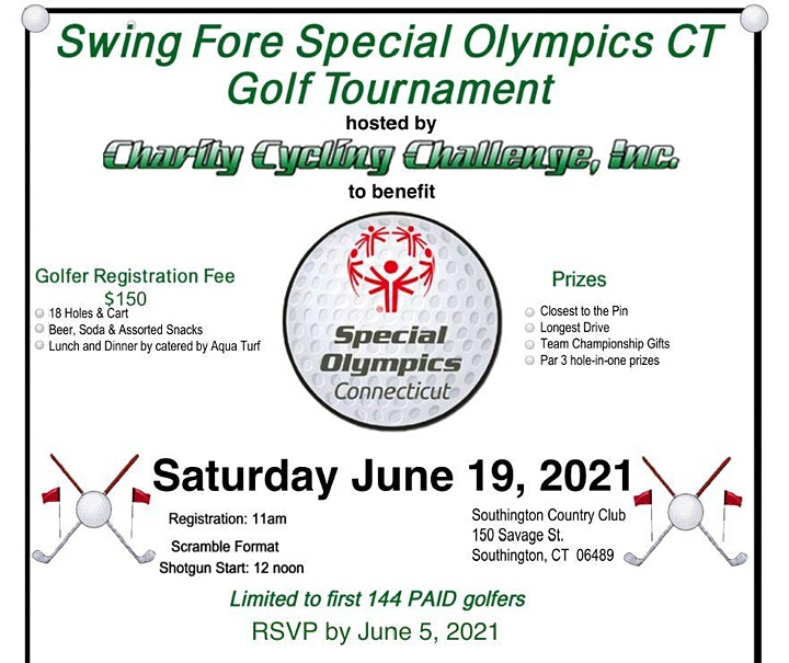Swing Fore Special Olympics Golf Tournament image