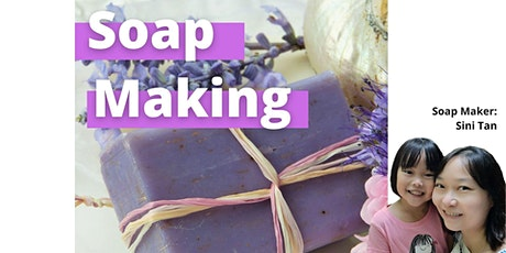 Soap Making for Dry and Sensitive Skin tickets