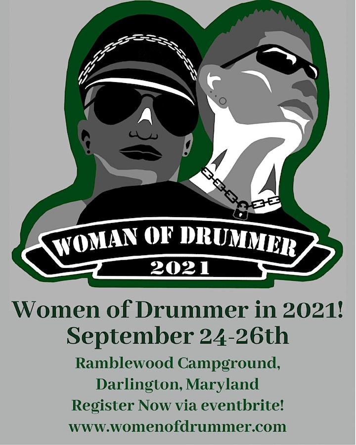 2021 Women of Drummer Contest Weekend image