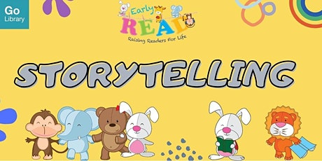Storytime for 4-6 years old @ Tampines Regional Library tickets