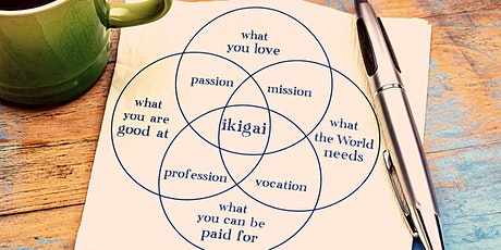 "Personal Growth Club: Understanding the concept of ""Ikigai"" tickets"