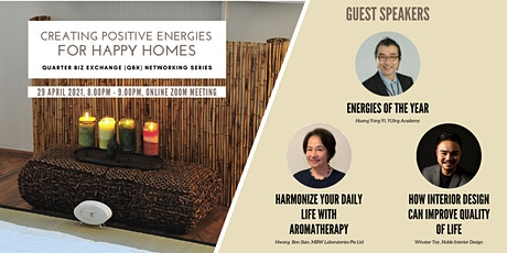 QBX - Creating Positive Energies for Happy Homes tickets