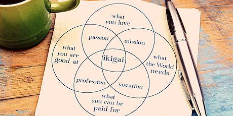 Personal Growth Club: My Ikigai Plan tickets