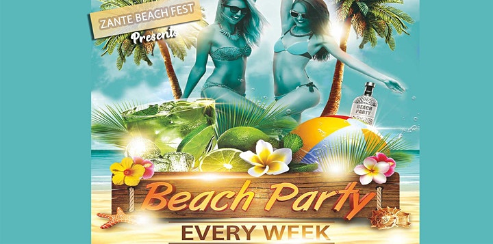 Zante Beach Fest image