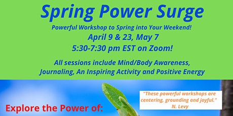 The Powerful Collective Spring Power Surge tickets