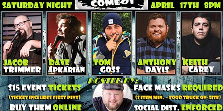 MADHOUSE COMEDY NIGHT tickets