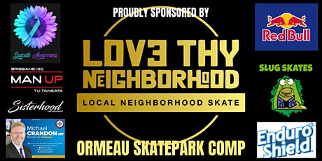 Ormeau Skatepark Comp tickets