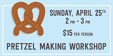 Pretzel Making Workshop tickets