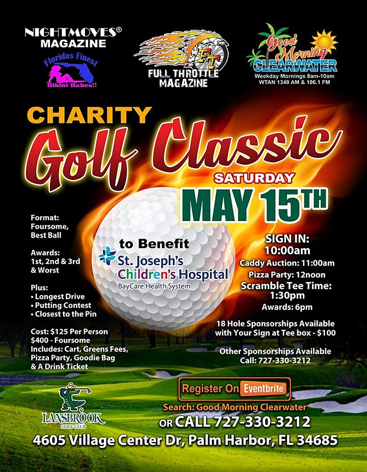 Full Throttle & Good Morning Clearwater Charity Golf Classic image