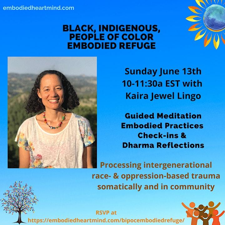 BIPOC Embodied Refuge Community image