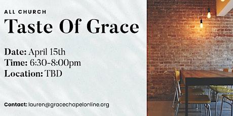 Taste of Grace tickets