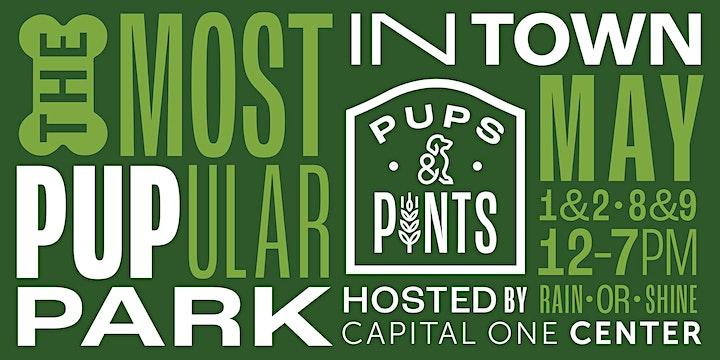 Pups  & Pints -- May 8th 2pm image