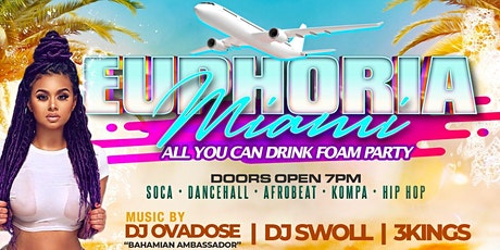 Euphoria Miami :  All You Can Drink Foam Party (Memorial Day Weekend) tickets