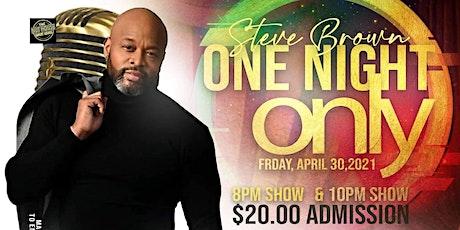 STEVE BROWN LIVE tickets