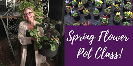 Spring Flower Pot Class tickets