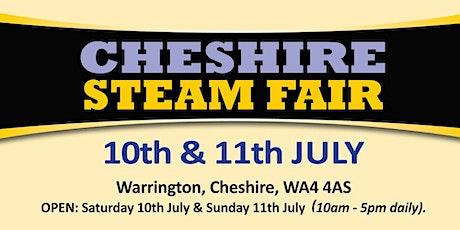 Cheshire Steam Fair 2021 - Trading Space tickets