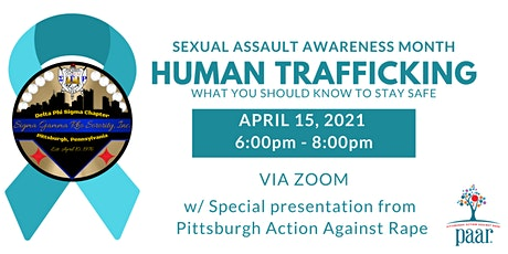 Human Trafficking Awareness w/ special guest Pittsburgh Action Against Rape tickets