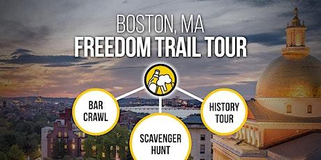 Boston Bar Crawl & Freedom Trail History Tour :: Brews & Clues tickets
