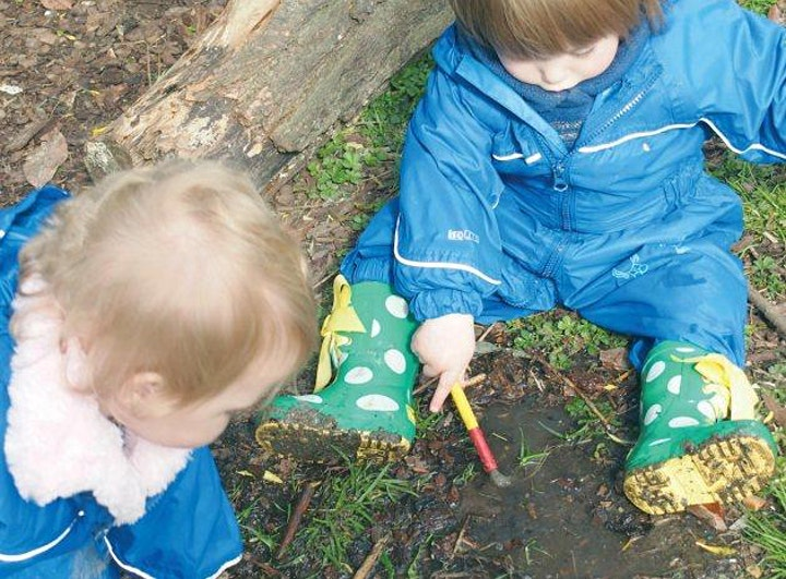 Lymley Tots - Forest School playgroup for pre schoolers image