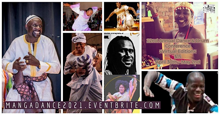 22nd Annual African Dance & Drum Conference**VIRTUAL** image