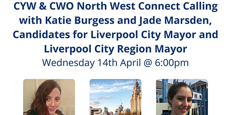 CYW & CWO North West Connect Calling with Katie Burgess and Jade Marsden tickets