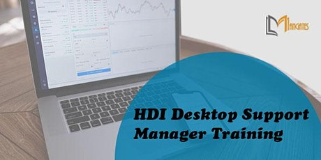 HDI Desktop Support Manager 3 Days Virtual Live Training in Des Moines, IA tickets
