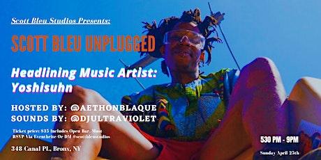 Scott Bleu: Unplugged tickets