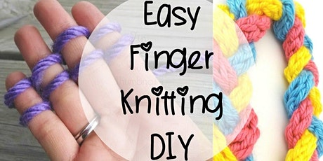 CGR Virtual Master Class: Finger Knitting 101 Workshop tickets