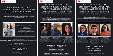Migration Matters: Ethnicity, Race, Labor, and Politics across Borders tickets