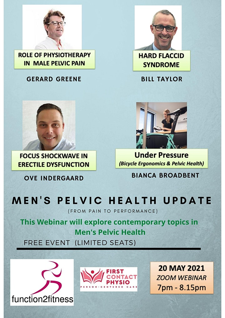 Men's Pelvic Health Physiotherapy Update image