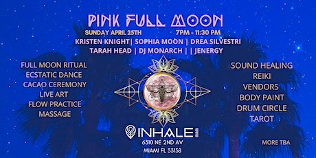 PINK FULL MOON AT INHALE MIAMI tickets