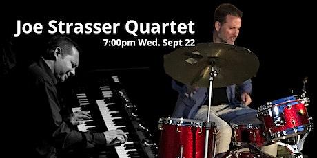 Joe Strasser Quartet, Grammy Nominee Pat Bianchi  7pm Wed Sep 22 @LaZingara tickets