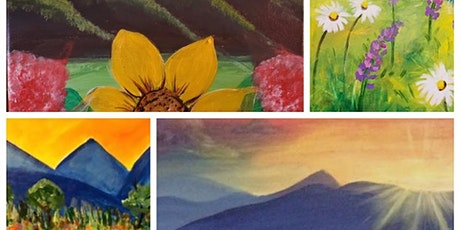 Springtime in the Mountains - Acrylic Painting Class tickets
