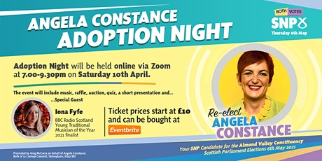 Angela Constance - Adoption Meeting 2021 tickets
