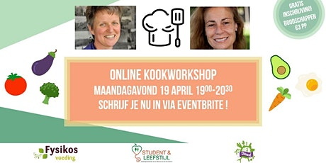 Online kookworkshop & lezing tickets