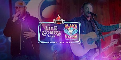Like Combs - Luke Combs Tribute with Blake Nation - Blake Shelton Tribute tickets