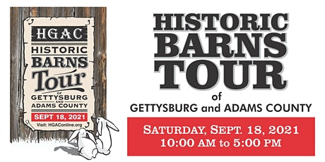 Historic Barns Tour of Gettysburg and Adams County tickets