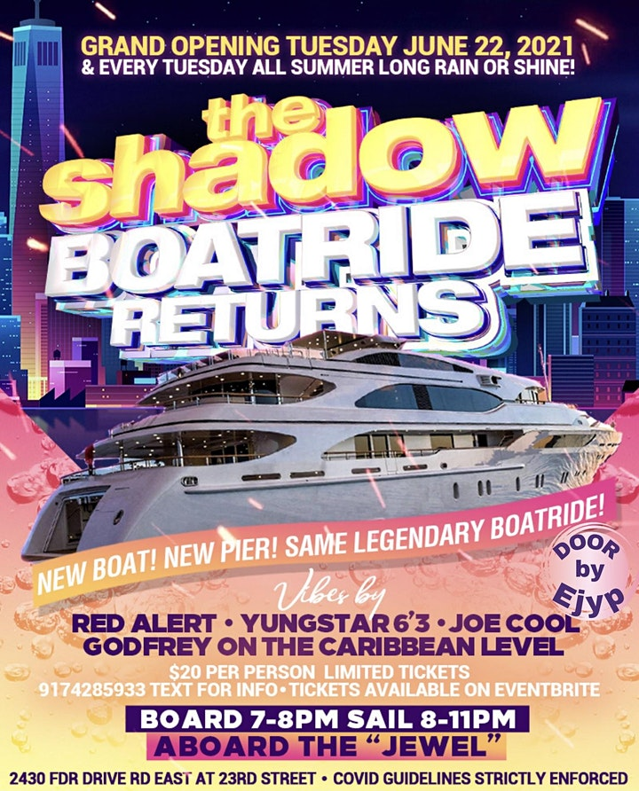 The RETURN of the SHADOW BOATRIDE image