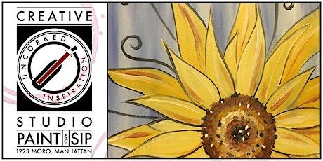Paint & Sip | Sunflower tickets