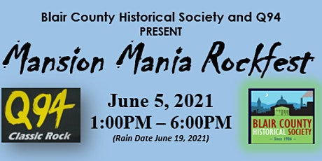 Mansion Mania Rockfest tickets