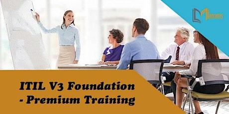 ITIL V3 Foundation - Premium 3 Days Training in Boston, MA tickets