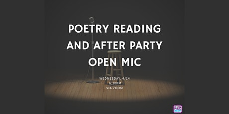 Poetry Reading and After Party Open Mic tickets