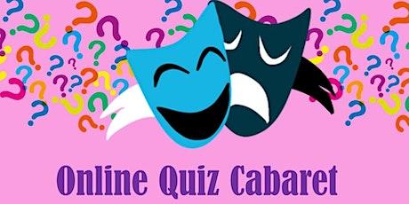 Online Quiz Cabaret tickets