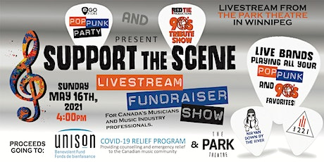 SUPPORT THE SCENE Fundraiser Show - Pop Punk Party w/  90'S Tribute Show tickets