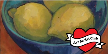 Paint a Bowl of Lemons - no drawing skills needed tickets