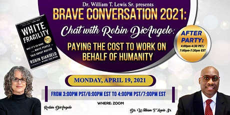 Brave Conversations 2021: Chat with Dr. Robin DiAngelo tickets
