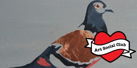 London Gilded Pigeon Painting Workshop - no drawing skills needed tickets